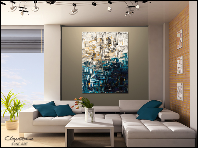 Envisioning-Modern Contemporary Abstract Art Painting Image