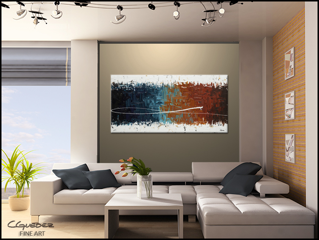 Good Feeling-Modern Contemporary Abstract Art Painting Image