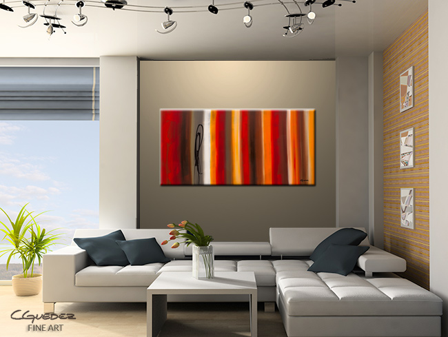 Juxtaposition-Modern Contemporary Abstract Art Painting Image
