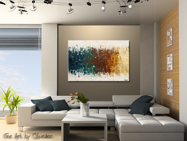 Oasis-Modern Contemporary Abstract Art Painting Image