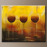 Abstract Art Paintings for Sale - A Bright Day - Original Art