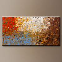 Large Abstract Art Painting - A Day to Remember - Canvas Painting