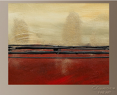 Affluence Modern Abstract Art Painting -Wall Art Close Up