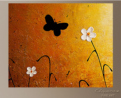 Amazing Grace Modern Abstract Art Painting -Wall Art Close Up