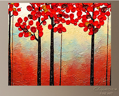 Aroma do Campo Modern Abstract Art Painting -Wall Art Close Up