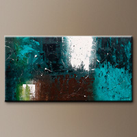 Oversized Abstract Art Painting - Awakening - Art Canvas