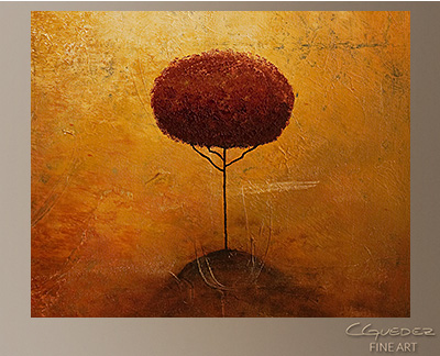 Belle Paysage Modern Abstract Art Painting -Wall Art Close Up
