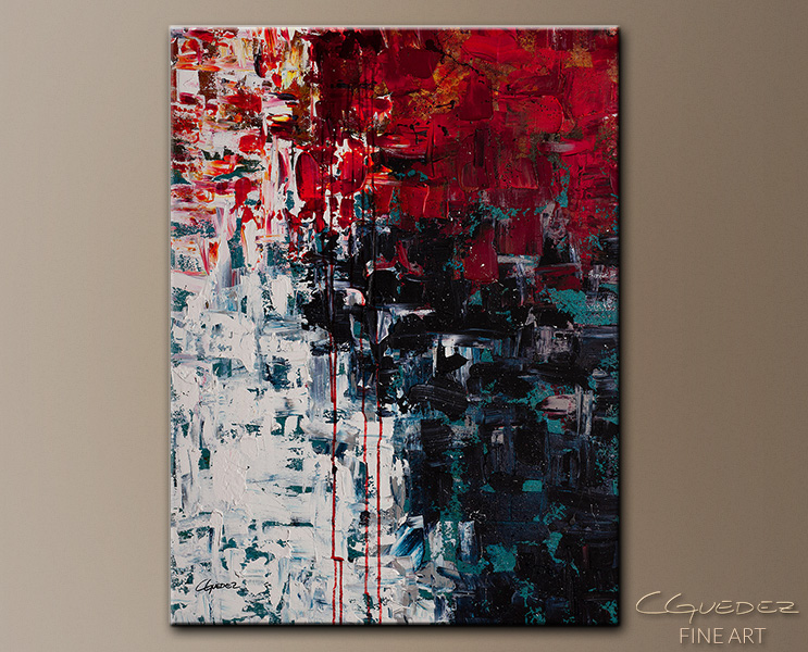 Better in Time - Abstract Art Painting Image by Carmen Guedez