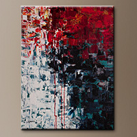 Abstract Art Painting - Better in Time - Large Art