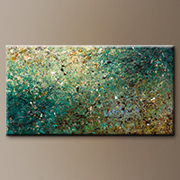 Large Abstract Art - Big Universe - Original Art