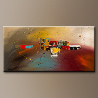 Large Abstract Art Painting - Bliss - Original Painting