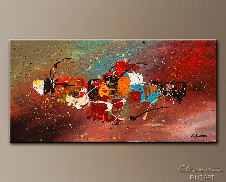 Boundaries - Abstract Art Painting Image by Carmen Guedez