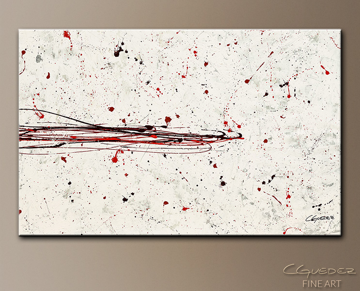Break the Ice - Abstract Art Painting Image by Carmen Guedez