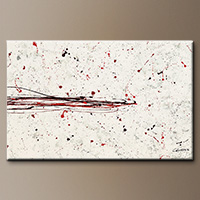Textured Abstract Painting - Break the Ice - Modern Art