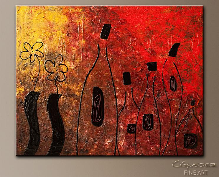 Cepa de la Argentina - Abstract Art Painting Image by Carmen Guedez