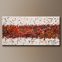 Modern Abstract Painting - Chit Chat - Large Art