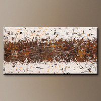 Huge Oversized Abstract Painting - Crossover - Modern Art