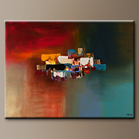 Original Abstract Art Painting - Dream - Wall Art