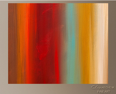 Dreamscape Modern Abstract Art Painting -Wall Art Close Up