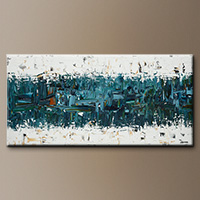 Canvas Art Paintings - Dynamism - Wall Art