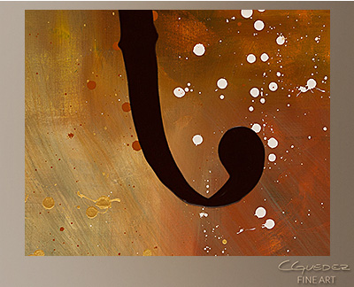 Efe Modern Abstract Art Painting -Wall Art Close Up