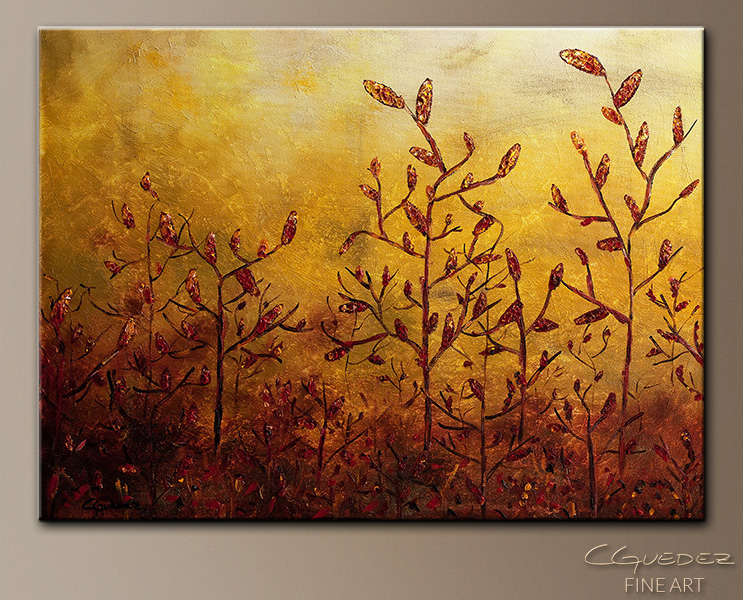 Enchanted Memories - Abstract Art Painting Image by Carmen Guedez