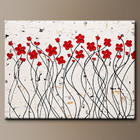 Wall Art Painting - Enchantment - Large Abstract