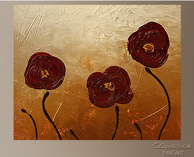 Endless Love Modern Abstract Art Painting -Wall Art Close Up