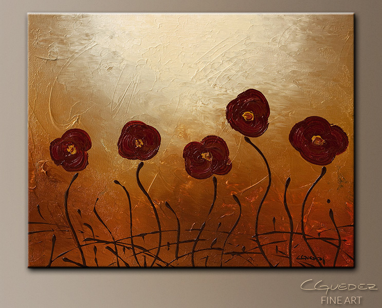 Endless Love - Abstract Art Painting Image by Carmen Guedez