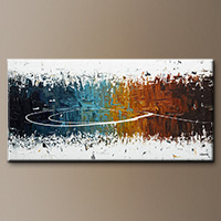 Original Abstract Art Paintings - Eye of the Beholder - Art Painting