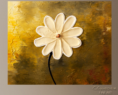 Faith, Hope, Love Modern Abstract Art Painting -Wall Art Close Up