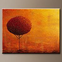 Tree Art - Feng Shui - Art Painting