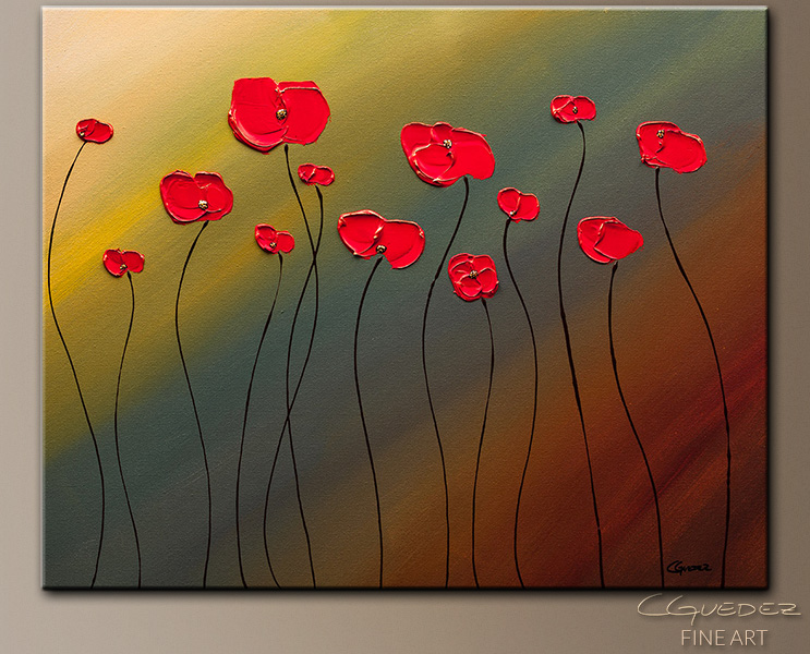 Floral Canvas Abstract Painting Fill Our Hearts With Joy