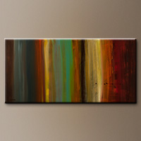 Contemporary Abstract Art Painting for Sale - Free Flow - Canvas Painting