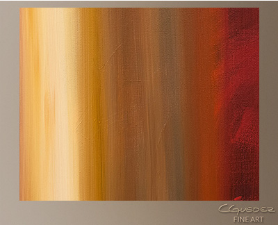 Freedom Modern Abstract Art Painting -Wall Art Close Up
