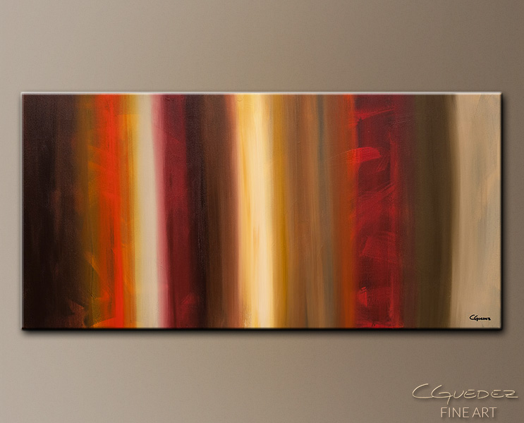 Freedom - Abstract Art Painting Image by Carmen Guedez