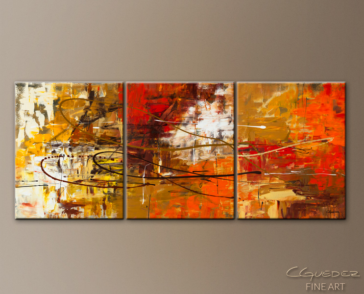 Funtastic   Abstract Art Painting Image By Carmen Guedez