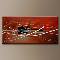 Gitarre-Flowers Art Gallery-Abstract Art Paintings Image