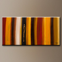 Modern Abstract Art Painting - Golden Hour - Art Painting