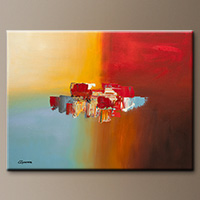 Large Original Wall Art - Good Day - Large Art