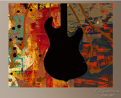music art painting guitar quest music paintings for sale wall art. Black Bedroom Furniture Sets. Home Design Ideas