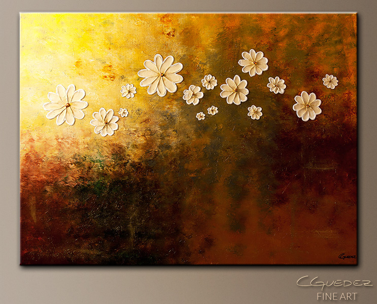Happily Ever After - Abstract Art Painting Image by Carmen Guedez
