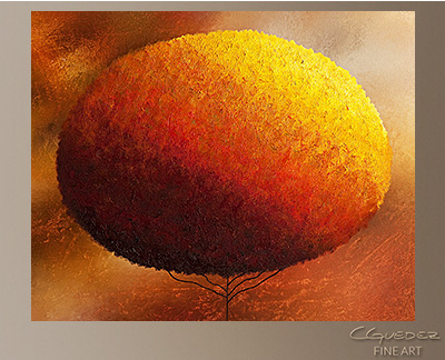 Here for You Modern Abstract Art Painting -Wall Art Close Up