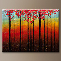 Abstract Art Painting - High Road - Large Abstract