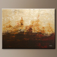 Horizonte-Impressionism Art Gallery-Abstract Art Paintings Image - Modern Art