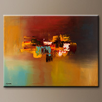 Modern Abstract Art Painting - Imagine - Contemporary Art
