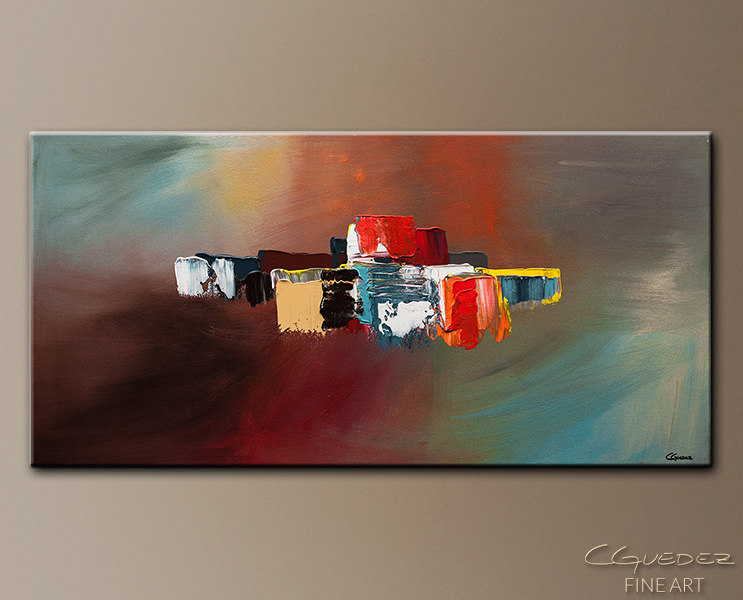 It's the Little Things - Abstract Art Painting Image by Carmen Guedez