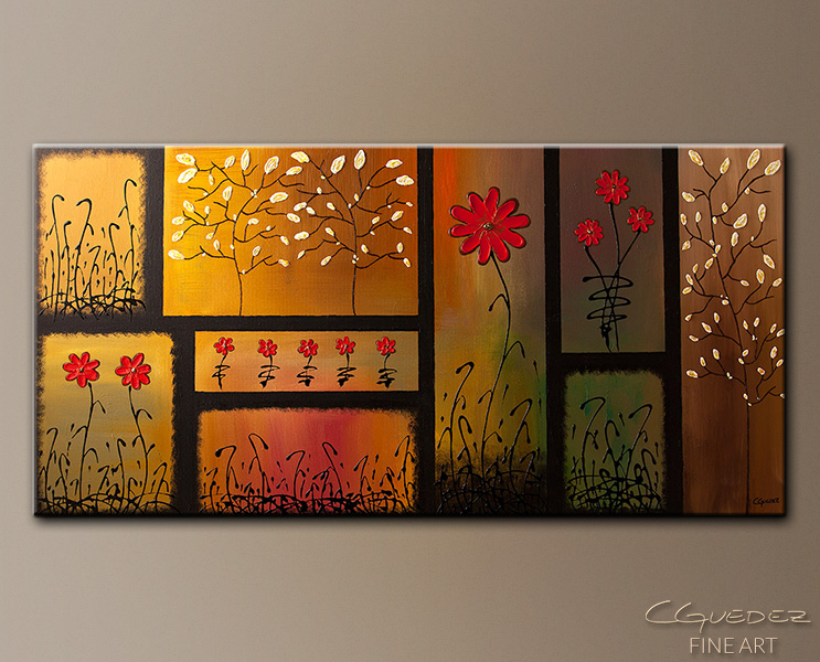 Abstract Art|Flowers Paintings Gallery|Contemporary Paintings by ...