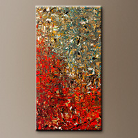 Extra Large Abstract Art Painting - La Fontaine - Art Gallery