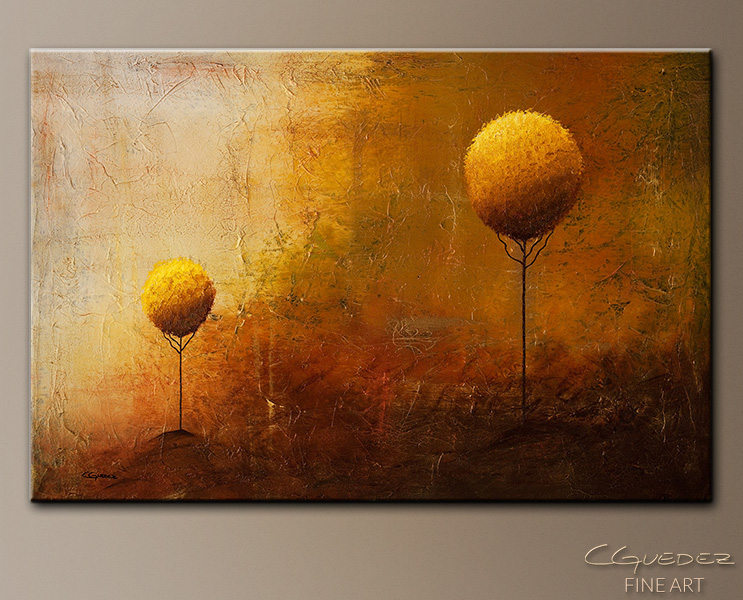 Life is but a Dream - Landscape Abstract Painting